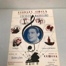 Partituras musicales: EDICIONES QUIROGA - PEPE BLANCO . Lote 190404942