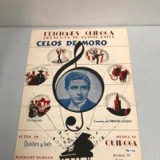 Partituras musicales: EDICIONES QUIROGA - PRINCIPE GITANO . Lote 190404952