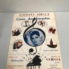 Partituras musicales: EDICIONES QUIROGA - JUANITA REINA . Lote 190405042