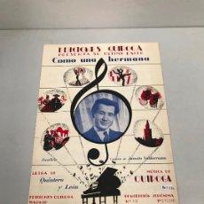 Partituras musicales: EDICIONES QUIROGA - JUANITO VALDERRAMA . Lote 190405066