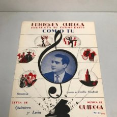 Partituras musicales: EDICIONES QUIROGA - EMILIO VENDRELL. Lote 190405091