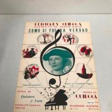 Partituras musicales: EDICIONES QUIROGA - CONCHITA PIQUER . Lote 190405138