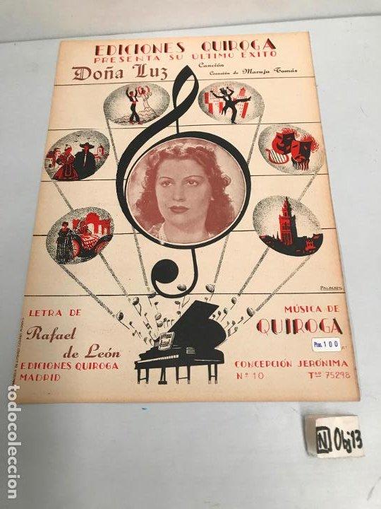 EDICIONES QUIROGA - MARUJA TOMAS (Música - Partituras Musicales Antiguas)