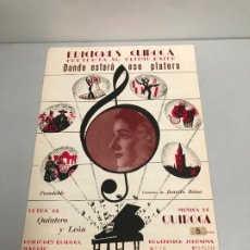 Partituras musicales: EDICIONES QUIROGA - JUANITA REINA . Lote 190405303