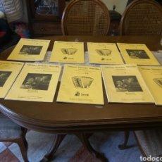 Partituras musicales: ACORDEÓN METODO RECREATIVO 9 EJEMPLARES EDICIONES MARAVILLAS. Lote 190601451