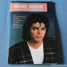 Partituras musicales: MICHAEL JACKSON - GREATEST HITS - CANCIONES CON PARTITURA FACIL - VER. Lote 191487520