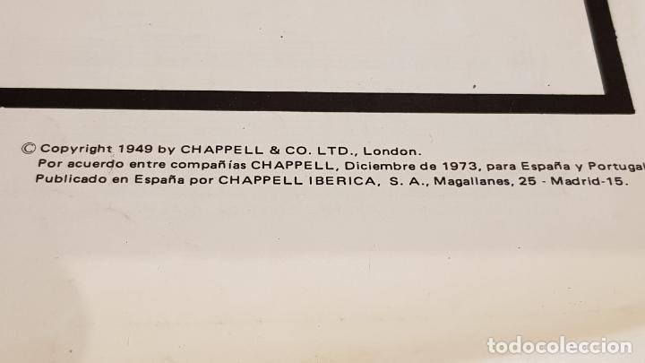 Partituras musicales: PARTITURA !! EL TERCER HOMBRE / ANTON KARAS / CHAPELL IBÉRICA-MADRID - 1973 - Foto 2 - 191684070