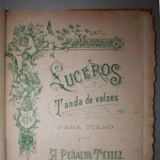 Partituras musicales: PARTITURAS ANTIGUAS ENCUADERNADAS, 15 EN TOTAL, VER ESTADO Y DESCRIPCIÓN EN FOTOGRAFIAS. Lote 191806105