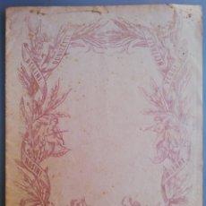 Partituras musicales: PARTITURA DE BOLERO MALLORQUÍN - (BAILE FOLCLÓRICO DE MALLORCA) - ESCRITA A MANO. Lote 192264776
