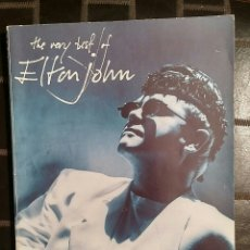 Partituras musicales: LIBRO PARTITURAS THE VERY BEST OF ELTON JOHN - WISE PUBLICATIONS, 1991. Lote 192785671