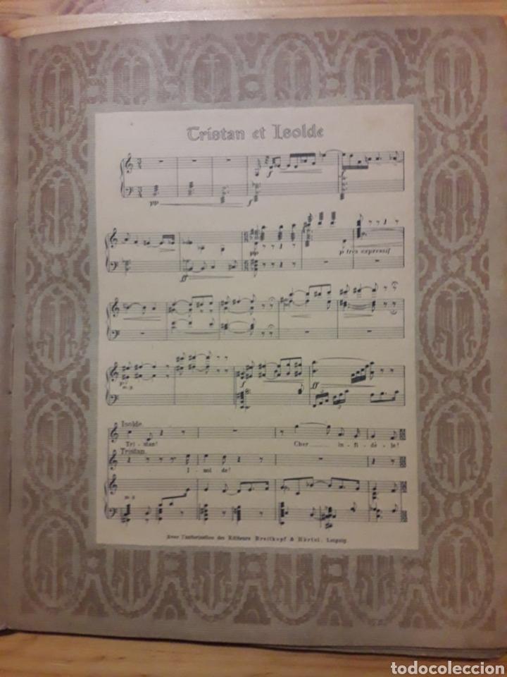 Partituras musicales: PRECIOSO CONJUNTO PARTITURAS MUSICA OPERA WAGNER CON ILUSTRACION FÉES PARSIFAL WALKYRIE TANNHÄUSER - Foto 4 - 192890426