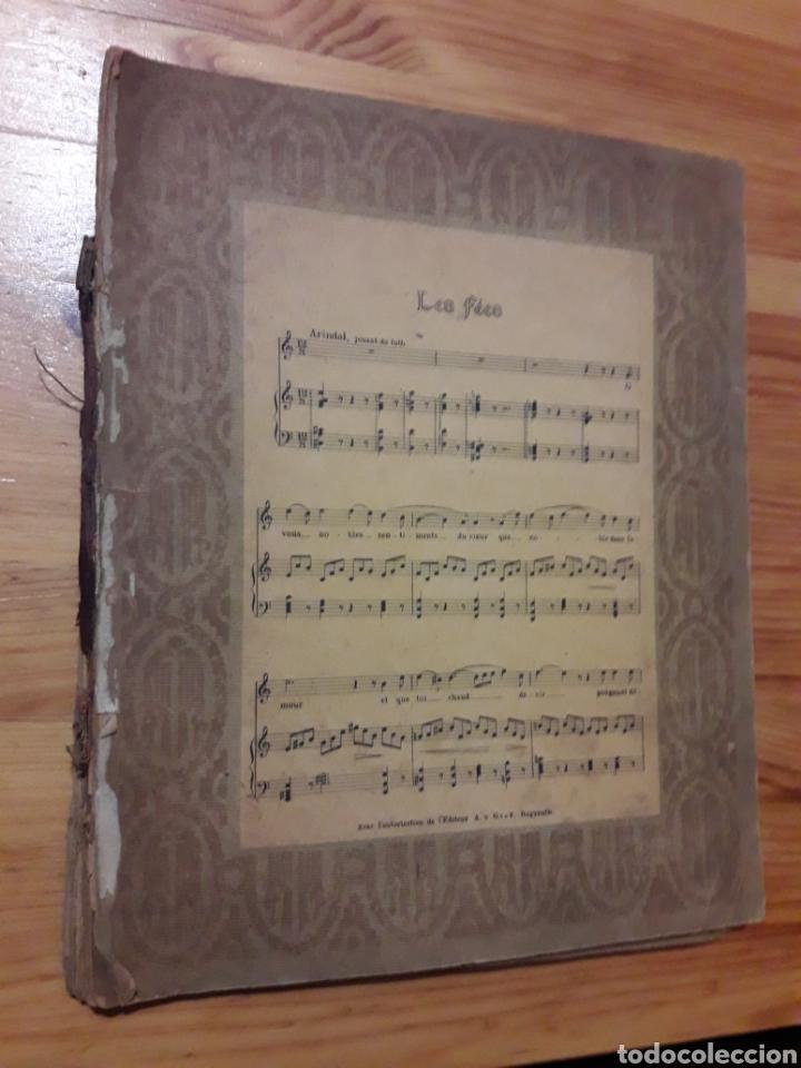 PRECIOSO CONJUNTO PARTITURAS MUSICA OPERA WAGNER CON ILUSTRACION FÉES PARSIFAL WALKYRIE TANNHÄUSER (Música - Partituras Musicales Antiguas)