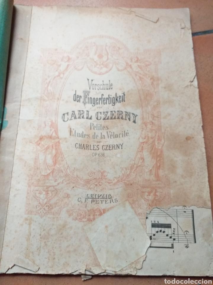 Partituras musicales: ANTIGUA PARTITURA CHARLES CZERNY - Foto 2 - 194184007