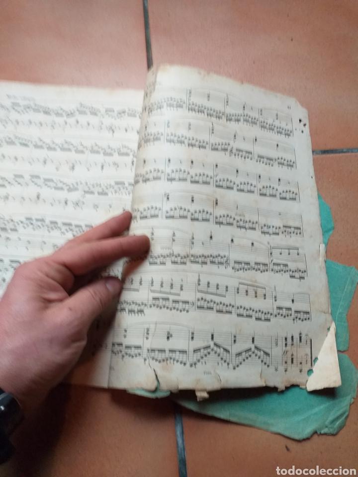 Partituras musicales: ANTIGUA PARTITURA CHARLES CZERNY - Foto 5 - 194184007