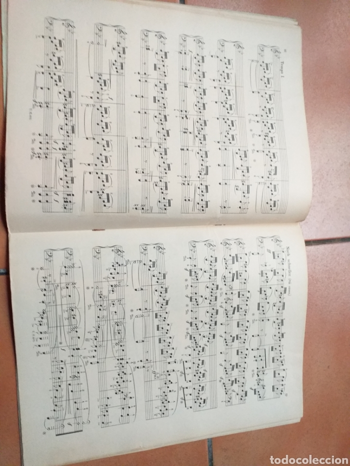 Partituras musicales: ANTIGUA PARTITURA SCHUMANN - Foto 4 - 194184372