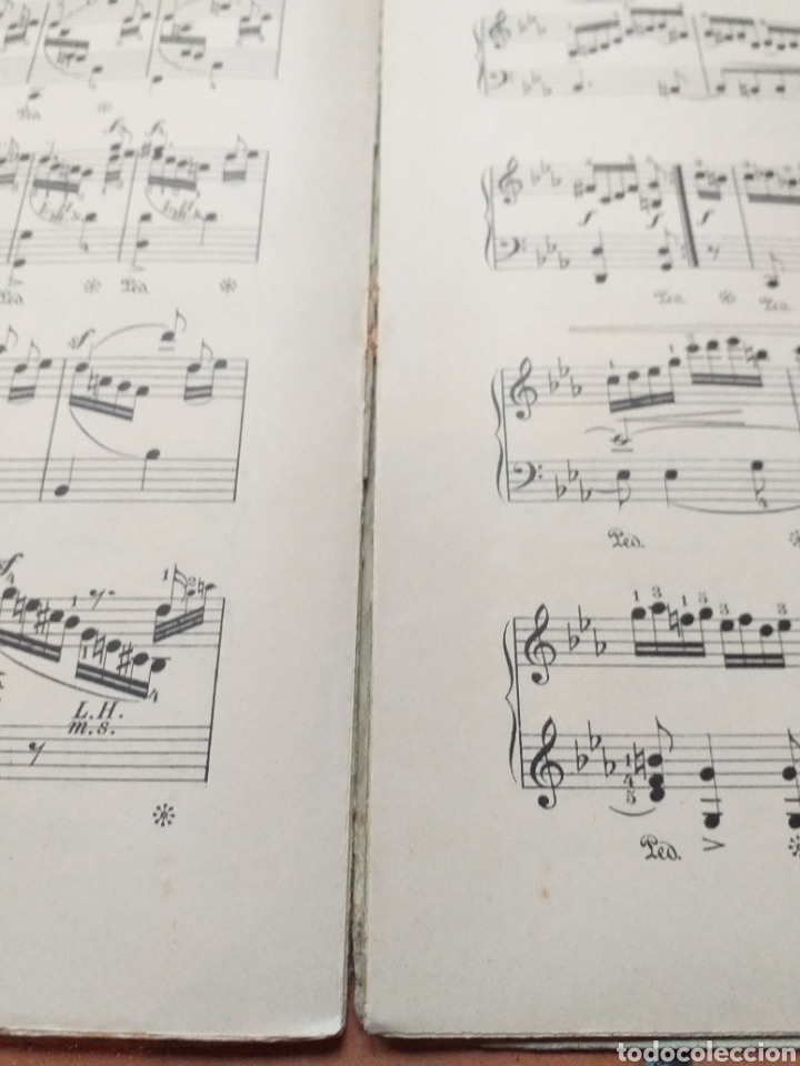 Partituras musicales: ANTIGUA PARTITURA SCHUMANN - Foto 5 - 194184372