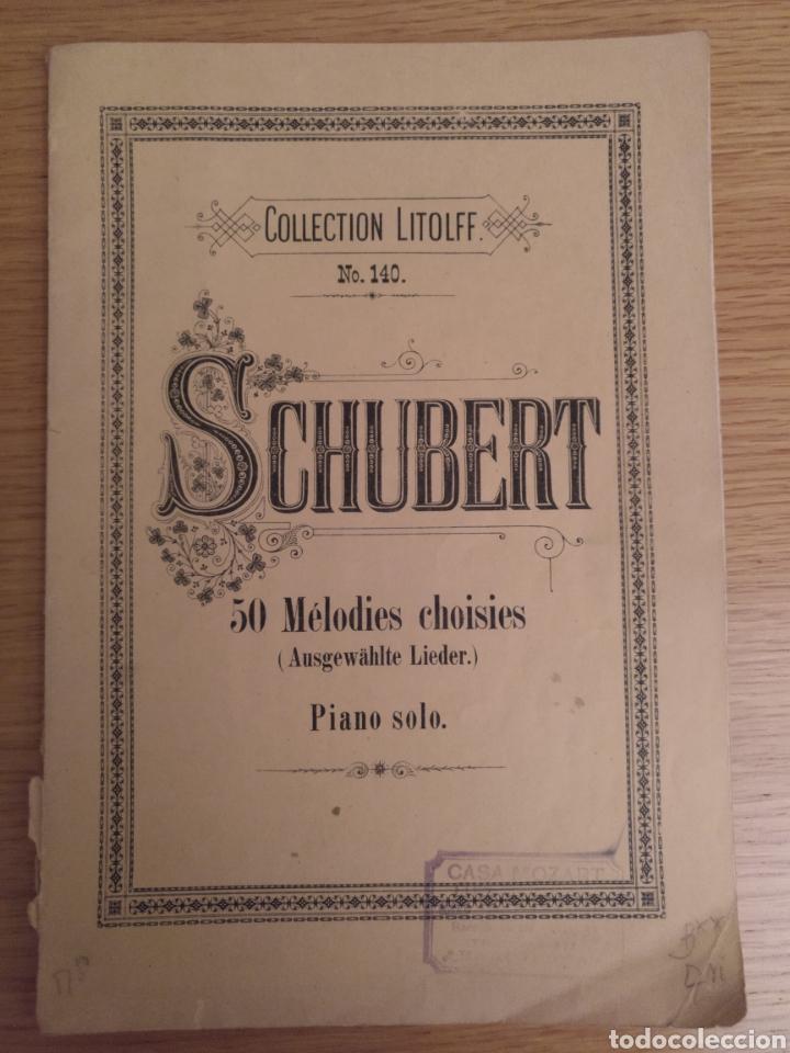 COLLECTION LITOLFF NUM 140 SCHUBERT (Música - Partituras Musicales Antiguas)