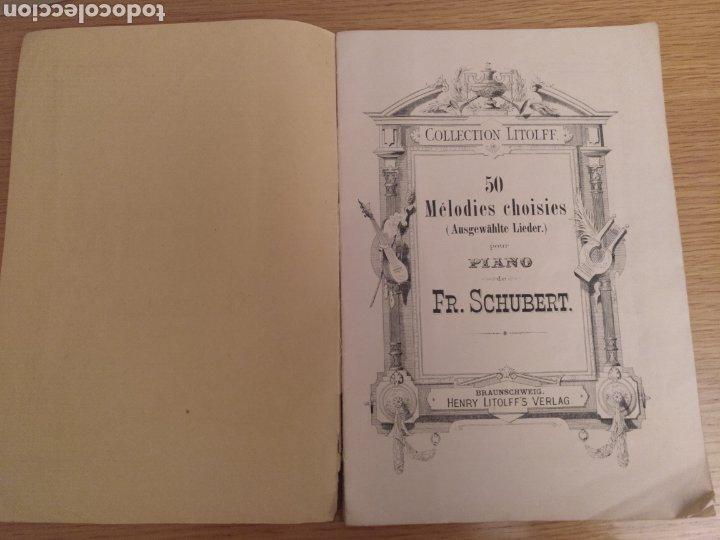Partituras musicales: Collection Litolff Num 140 Schubert - Foto 2 - 194213940