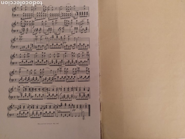Partituras musicales: Collection Litolff Num 140 Schubert - Foto 3 - 194213940