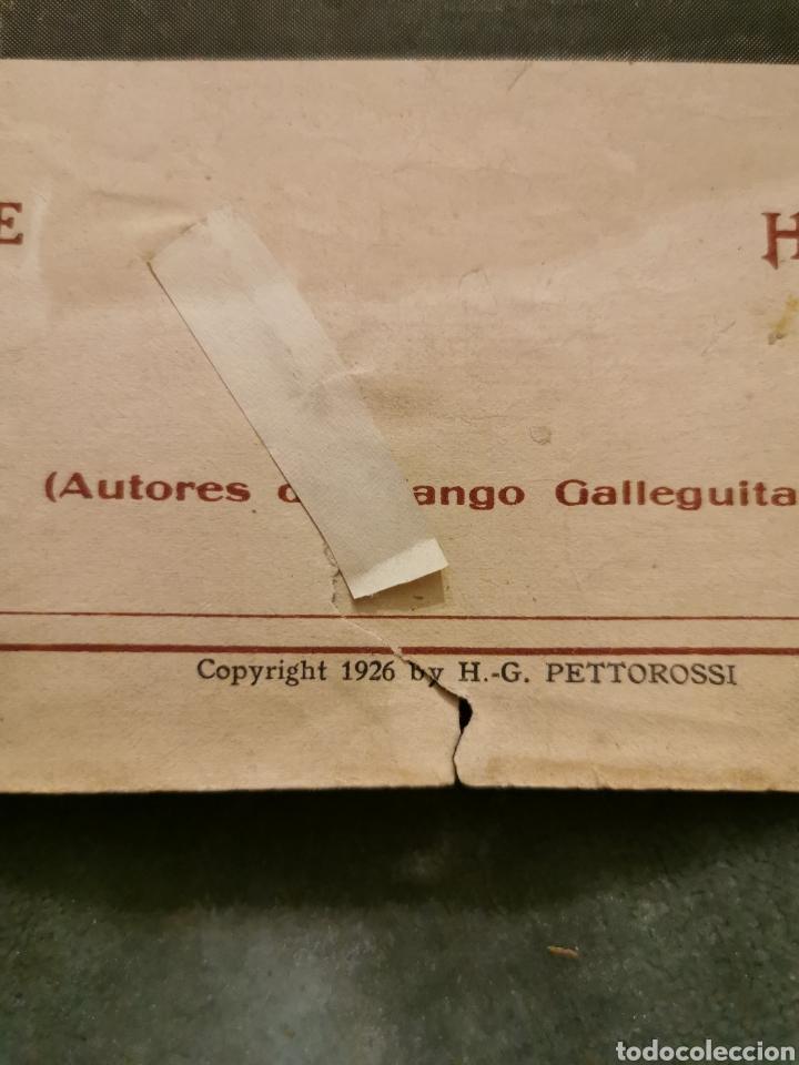 Partituras musicales: ¡Fea! Tango canción de 1926 - Foto 4 - 194646471
