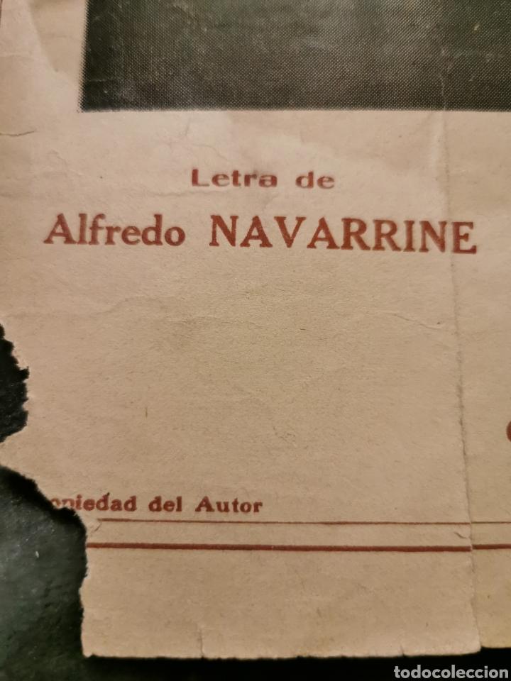Partituras musicales: ¡Fea! Tango canción de 1926 - Foto 5 - 194646471