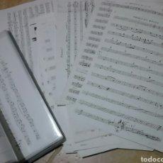 Partituras musicales: EXCELENTE LOTE DE 135 VIEJAS PARTITURAS DE MÚSICA, DESCONOZCO,VER. Lote 194722376