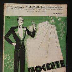 Partituras musicales: PUBLICIDAD INOCENTE PARTITURA VALS PARA VALDESPINO DE SALVADOR MOYA Y JAIME MESTRES. Lote 194977567