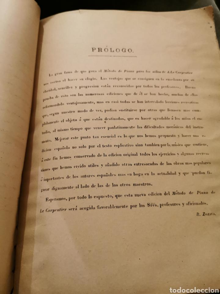 Partituras musicales: Libro de piano completo - Foto 2 - 195152521