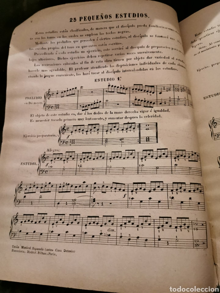 Partituras musicales: Libro de piano completo - Foto 3 - 195152521
