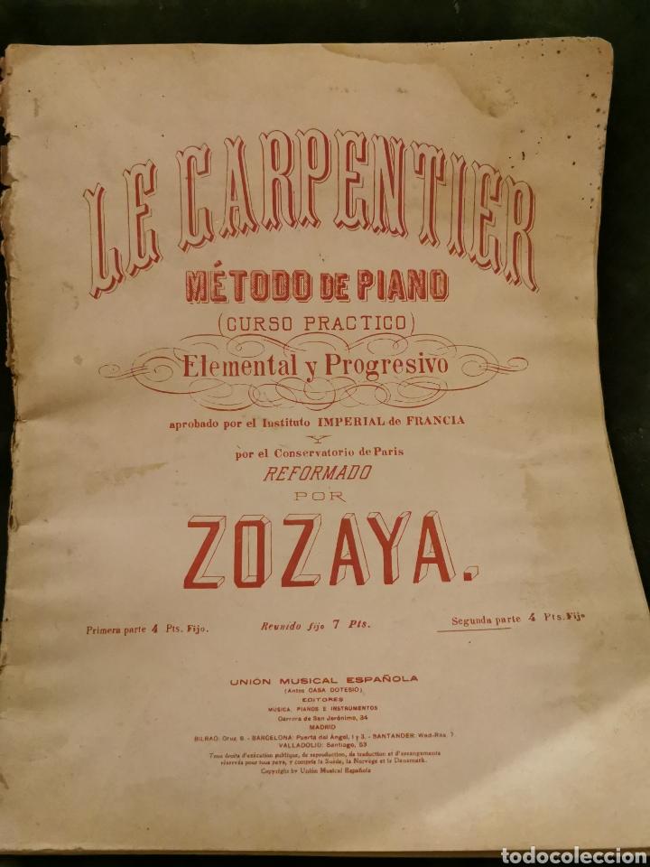 LIBRO DE PIANO COMPLETO (Música - Partituras Musicales Antiguas)