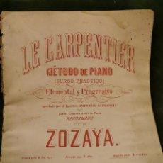 Partituras musicales: LIBRO DE PIANO COMPLETO. Lote 195152521