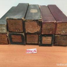 Partituras musicales: LOTE DE 10 ROLLOS DE PIANOLA. Lote 195235573