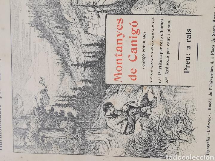 Partituras musicales: Partitura de Cançons Catalanes. Harmonisades per Enric Morera - Foto 4 - 195291597