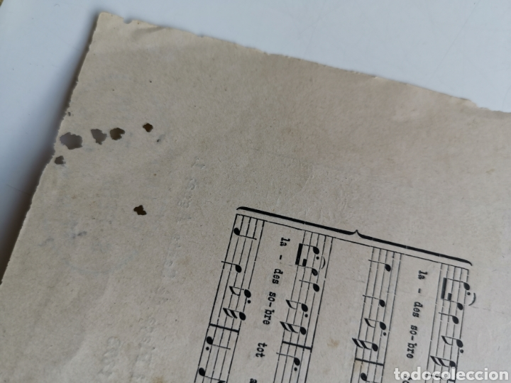 Partituras musicales: Partitura de Cançons Catalanes. Harmonisades per Enric Morera - Foto 5 - 195291597