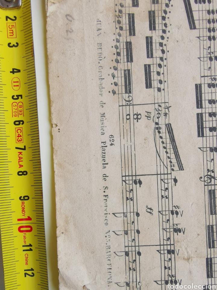 Partituras musicales: Partitura Antigua los Mosqueteros de la Reina. Sinfonía. 11 páginas - Foto 3 - 195312831