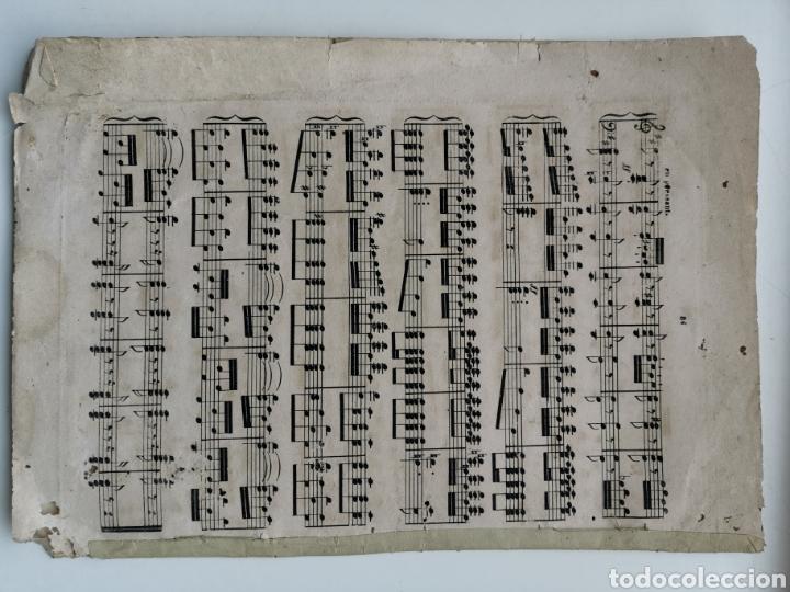 Partituras musicales: Partitura Antigua los Mosqueteros de la Reina. Sinfonía. 11 páginas - Foto 5 - 195312831
