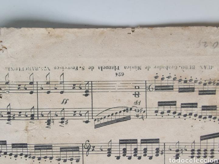 Partituras musicales: Partitura Antigua los Mosqueteros de la Reina. Sinfonía. 11 páginas - Foto 6 - 195312831