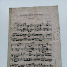 Partituras musicales: PARTITURA ANTIGUA LOS MOSQUETEROS DE LA REINA. SINFONÍA. 11 PÁGINAS. Lote 195312831
