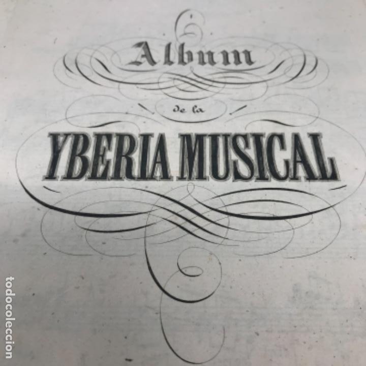Partituras musicales: LITOGRAFÍA DE PARTITURAS ÁLBUM DE LA YBERIA MUSICAL 1844 - Foto 11 - 72886971