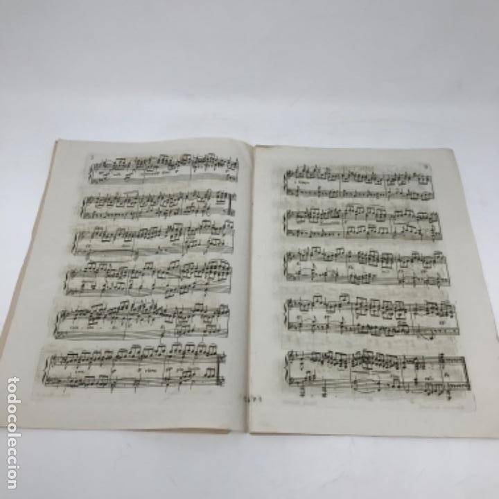 Partituras musicales: LITOGRAFÍA DE PARTITURAS ÁLBUM DE LA YBERIA MUSICAL 1844 - Foto 15 - 72886971