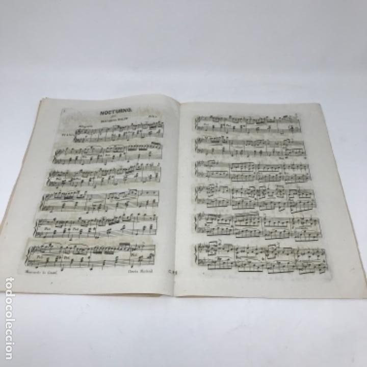 Partituras musicales: LITOGRAFÍA DE PARTITURAS ÁLBUM DE LA YBERIA MUSICAL 1844 - Foto 17 - 72886971