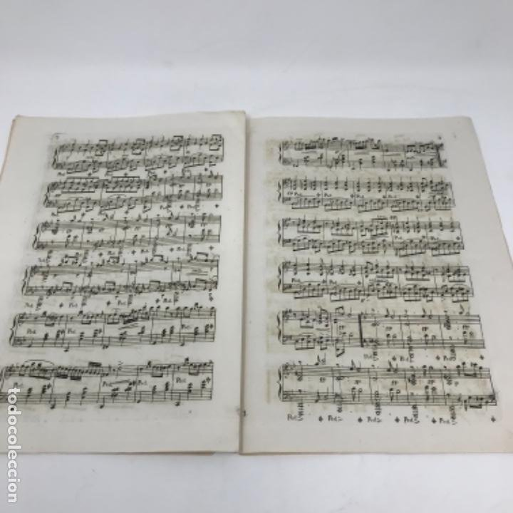 LITOGRAFÍA DE PARTITURAS ÁLBUM DE LA YBERIA MUSICAL 1844 (Música - Partituras Musicales Antiguas)