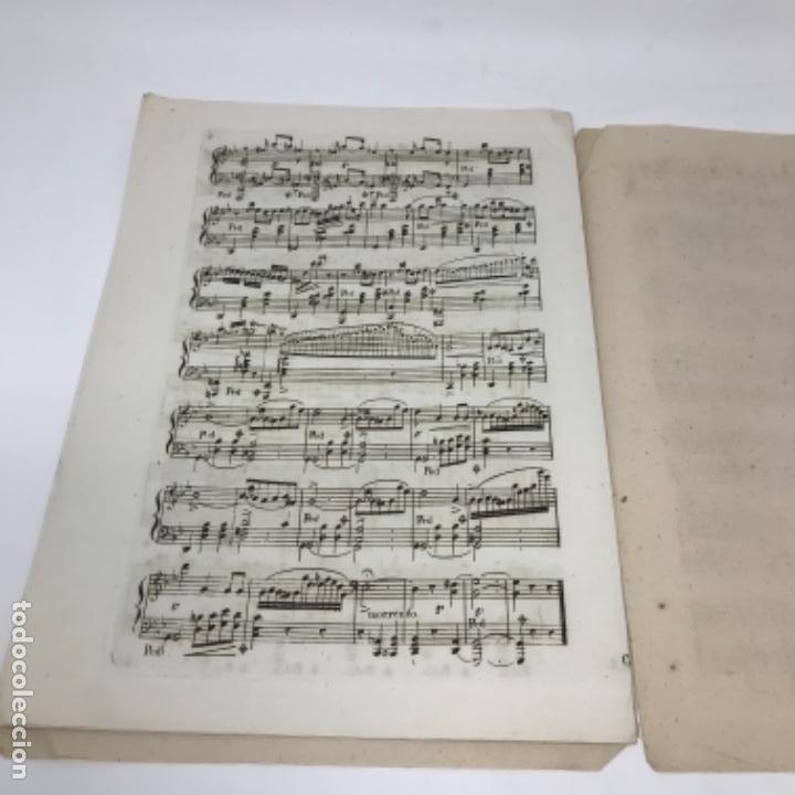 Partituras musicales: LITOGRAFÍA DE PARTITURAS ÁLBUM DE LA YBERIA MUSICAL 1844 - Foto 19 - 72886971