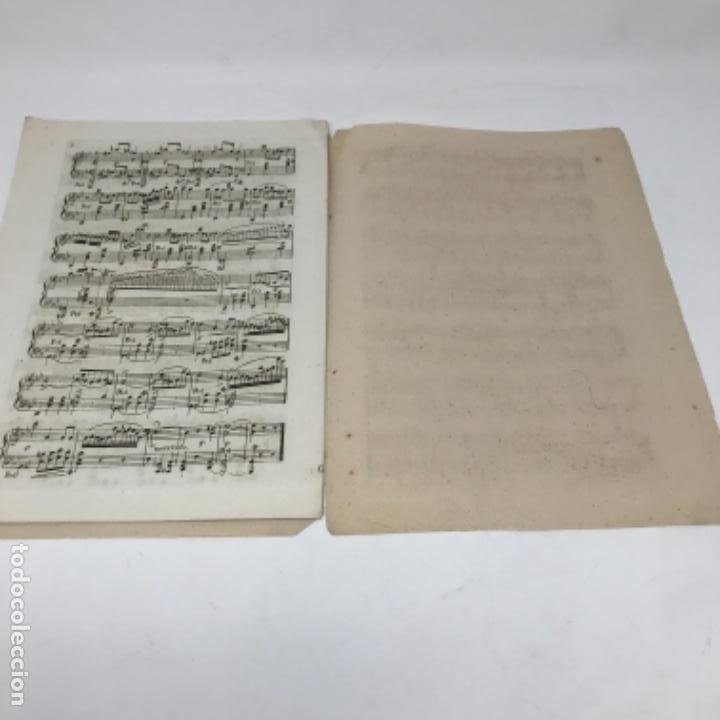 Partituras musicales: LITOGRAFÍA DE PARTITURAS ÁLBUM DE LA YBERIA MUSICAL 1844 - Foto 20 - 72886971