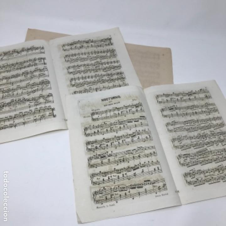 Partituras musicales: LITOGRAFÍA DE PARTITURAS ÁLBUM DE LA YBERIA MUSICAL 1844 - Foto 21 - 72886971