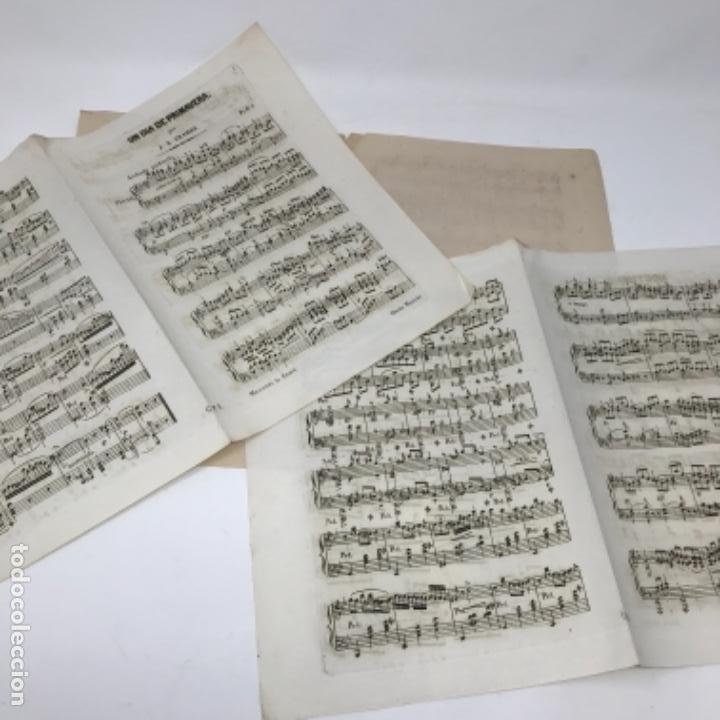 Partituras musicales: LITOGRAFÍA DE PARTITURAS ÁLBUM DE LA YBERIA MUSICAL 1844 - Foto 22 - 72886971