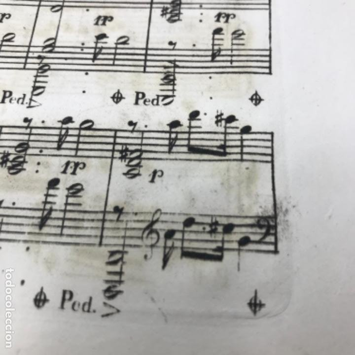 Partituras musicales: LITOGRAFÍA DE PARTITURAS ÁLBUM DE LA YBERIA MUSICAL 1844 - Foto 23 - 72886971