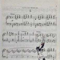 Partituras musicales: PARTITURA DANZAS ESPAÑOLAS DE GRANADOS. Lote 196162788