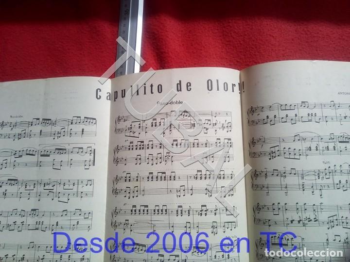 Partituras musicales: TUBAL ANTONIO TABARÉS CAPULLITO DE OLOR MI CULOTE PARTITURA ANTIGUA 1933 P5 - Foto 2 - 197860136