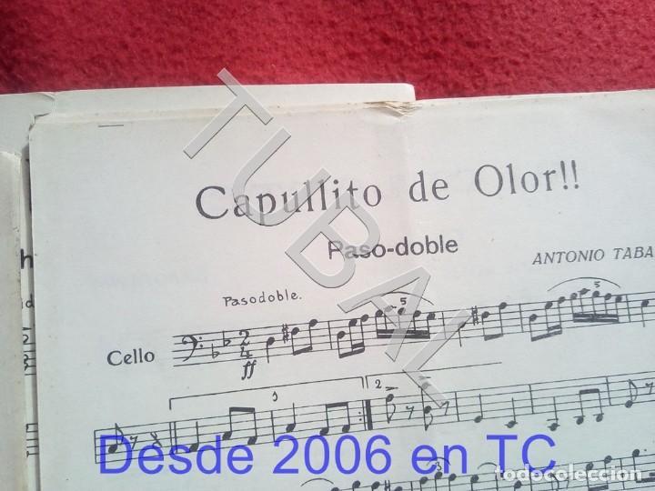 Partituras musicales: TUBAL ANTONIO TABARÉS CAPULLITO DE OLOR MI CULOTE PARTITURA ANTIGUA 1933 P5 - Foto 4 - 197860136
